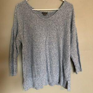 Eddie Bauer knit sweater blue